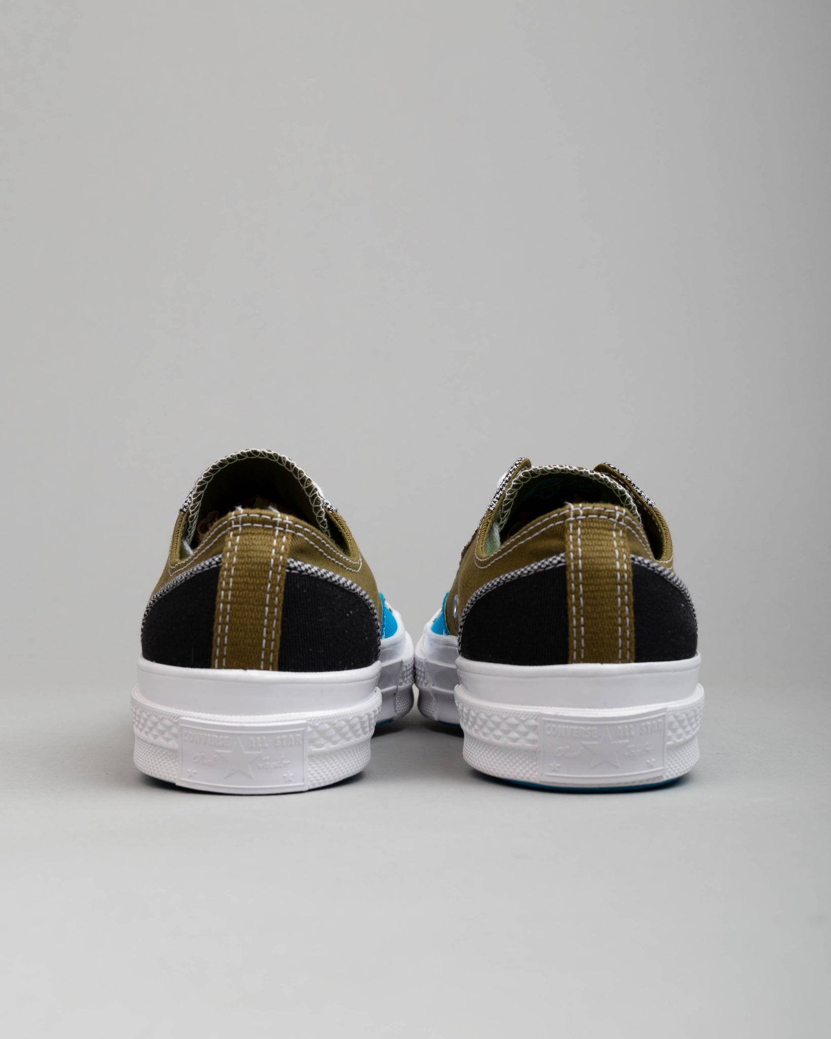 Chuck 70 OX Patchwork Dark Moss/Black