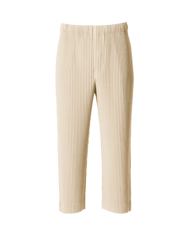 Pleated Cropped Pant Moonstone 1