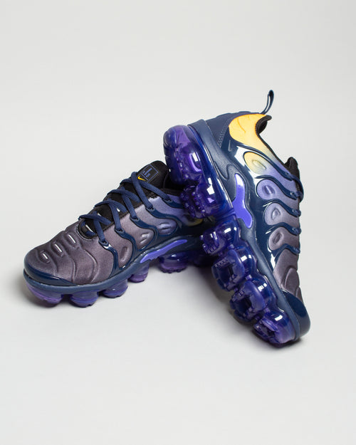 W Air VaporMax Plus Persian Violet/Black/Midnight Navy 2