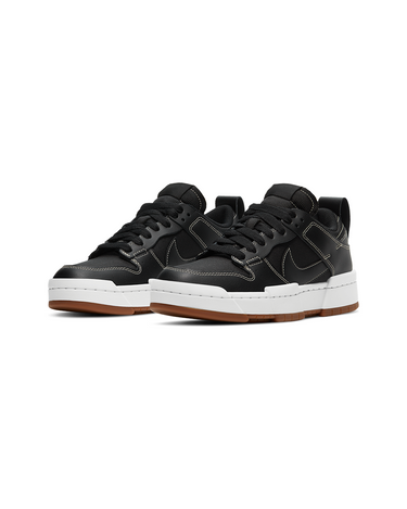 W Dunk Low Disrupt Black/Black/Fossil 2