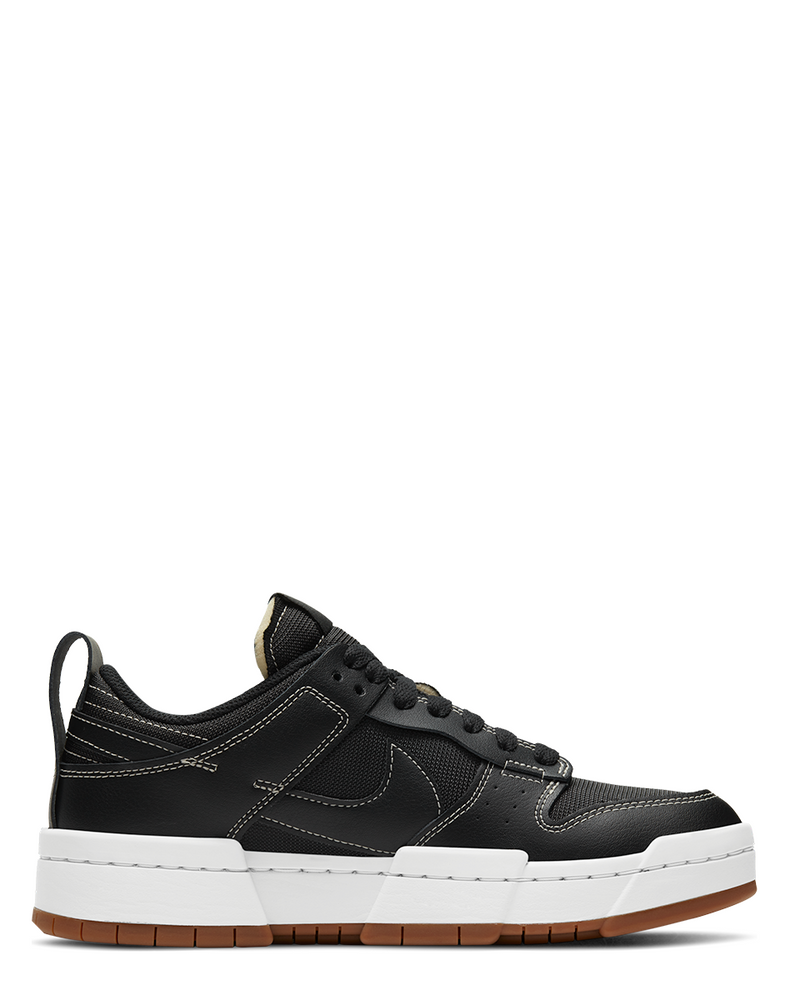 W Dunk Low Disrupt Black/Black/Fossil