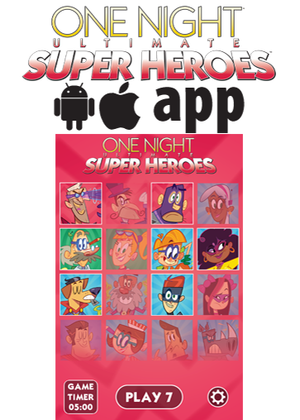 One Night Ultimate Super Heroes app