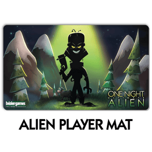 One Night Ultimate Alien Player Mat