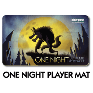 One Night Ultimate Werewolf Player Mat