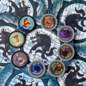 One Week Ultimate Werewolf Plastic Role Tokens