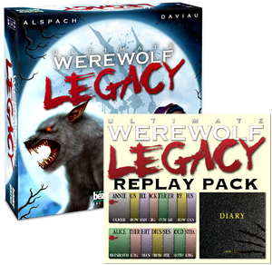 Ultimate Werewolf Legacy w/Refill Diary Bundle