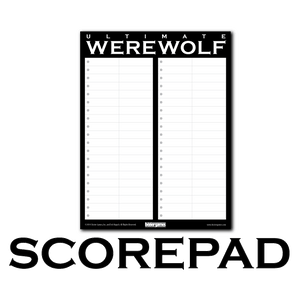 Ultimate Werewolf Replacement Scorepads