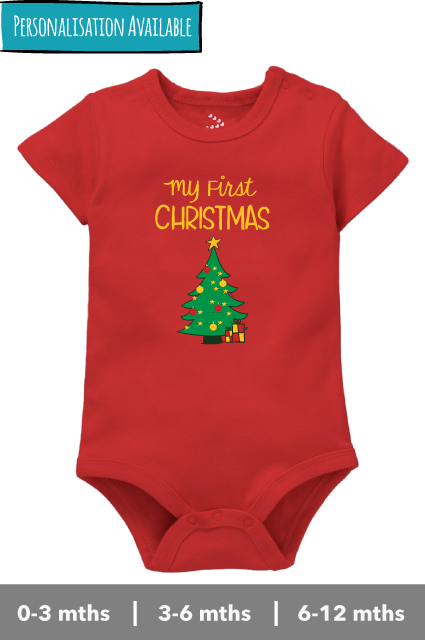 My First Christmas - Onesie