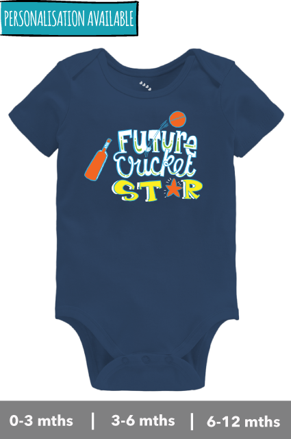 Future Cricket Star - Onesie