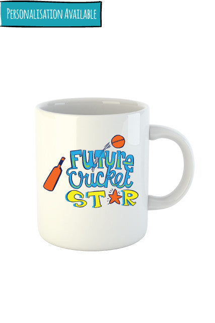 Future Cricket Star - Mug