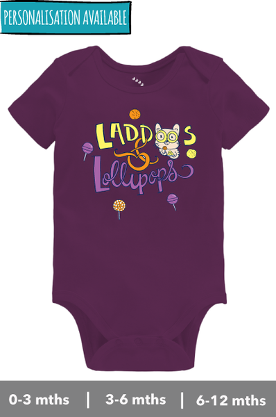 Laddoos & Lollipops - Onesie