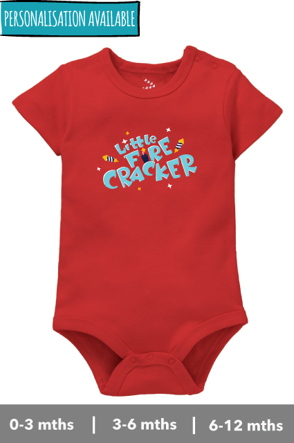 Little Fire Cracker - Onesie