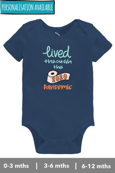 Lived through the 2020 Pandemic - Onesie