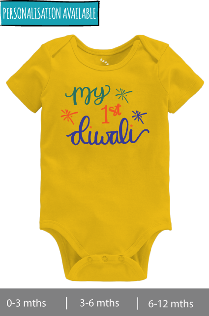 My First Diwali - Onesie
