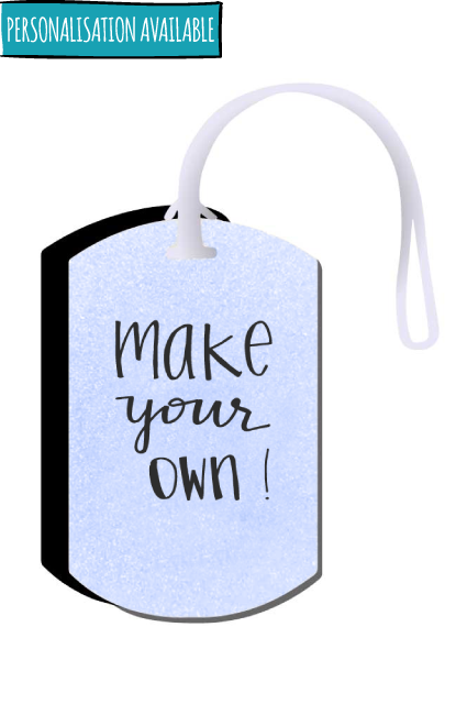 Make your own Luggage Tag