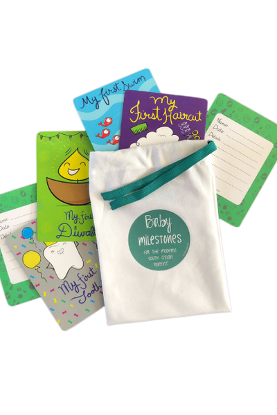 Milestone Cards for Baby's First's Milestones india online