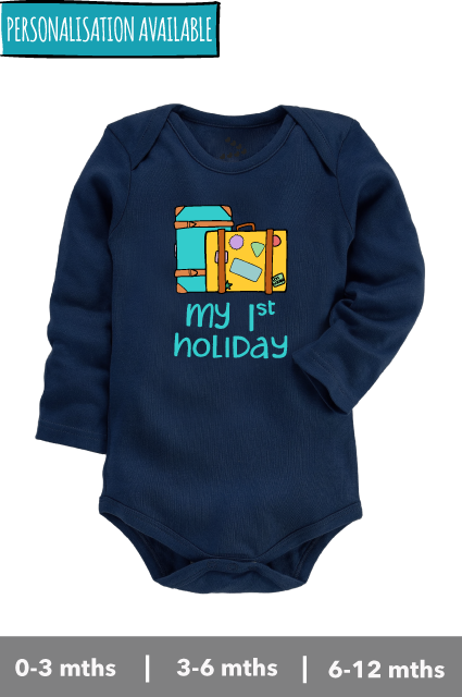 My First Holiday - Onesie