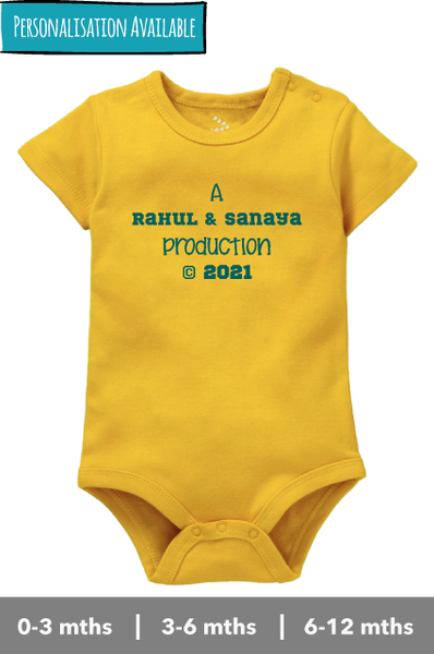 Parents Production- Onesie