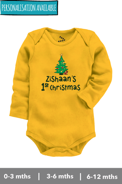 'Personalised' First Christmas - Onesie