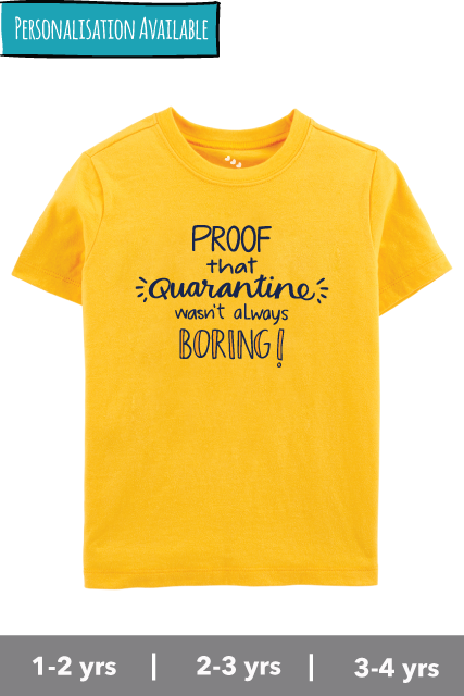 Proof-that-quarantine-2020-wasnt-always-boring-kids-tshirt-yellow