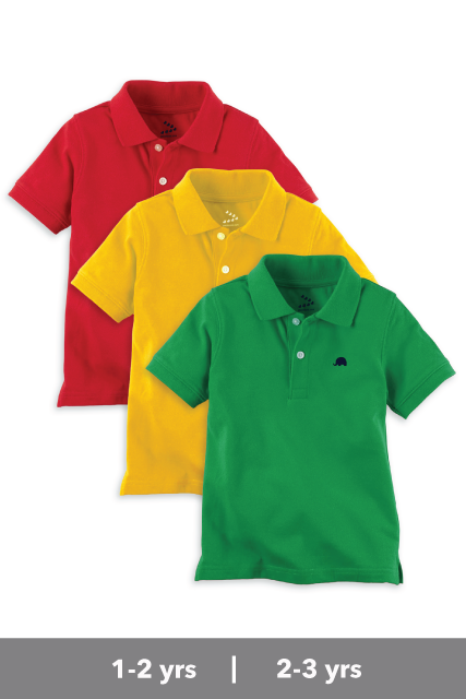 Polo Tees - Set of 3