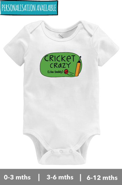 Cricket Crazy-Onesie