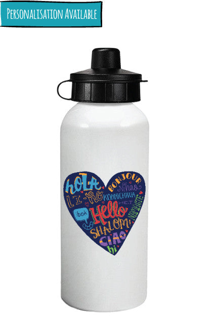 Hello - Water Bottle