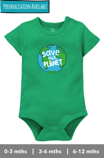 Save Our Planet - Onesie