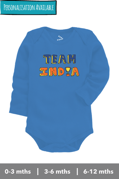 Team India Long Sleeve - Onesie