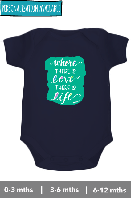 Where there is love - M.K. Gandhi - Onesie