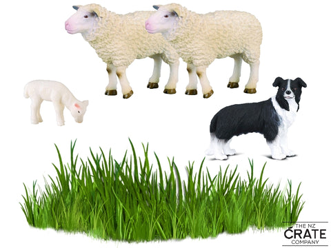 Little Farm Animals: Sheep & Dog Box Set
