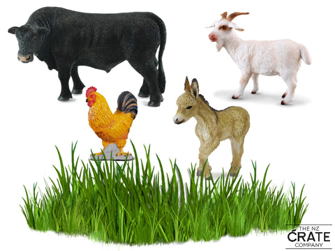 Little Farm Animals: Farm Yard Box Set