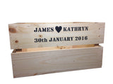 Large Wedding Crate