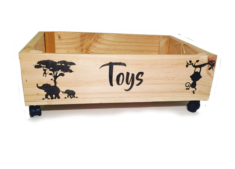 Large Toy Crate Tray