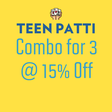 Teen Patti - Combo for 3