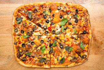 The XL Party Pizza - Veg