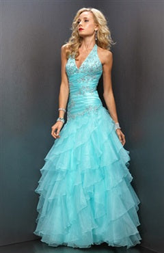 Princess Organza Beading Floor-length Graduation Prom, Style Code: 00283, US$159.00