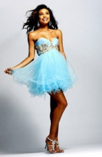 short blue homecoming dresses 00599