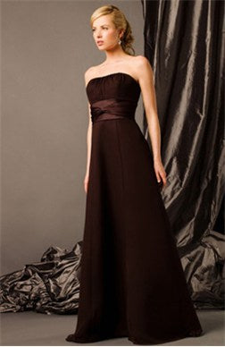 a line strapless bridesmaid dresses 02728