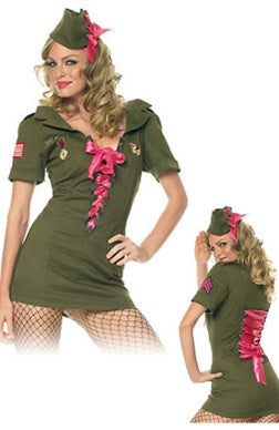 Army Jersey Sets Greens Role Play Adult Costume