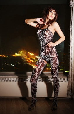 mesh body stocking