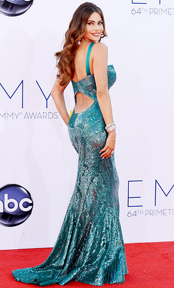sophia vergara mermaid gown