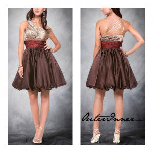 metallic homecoming dresses 09489