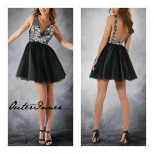 sequin homecoming dresses 09517