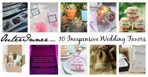 10 inexpensive wedding favors