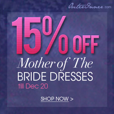15% off mother of the bride dresses