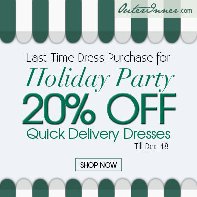 20% off quick delivery dresses