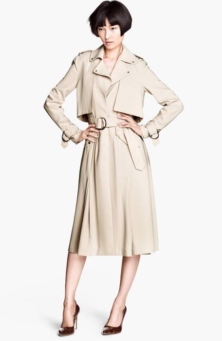 Mac Coat With Belt