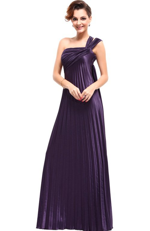 Straps Pleated Military Ball Dress