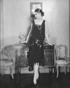 1920s chanel cocktail dress